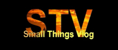 Small Things Video Blog